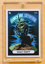 2018 SSFC GRAVY DAVY Super Chase Card Sticker (Hot Foil Header) (#3D) VERY RARE!