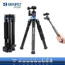 Benro IS05 Aluminum Tripod Monopod Selfie Stick & 360° Ball Head for DSLR Camera
