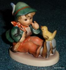 Singing Lesson Goebel Hummel Figurine #63 TMK5 Boy With Bird MOTHER'S DAY GIFT!