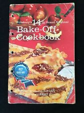 Pillsbury's 1963, 14th Grand National, Best of the Bake Off Cookbook, Vintage
