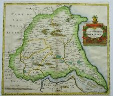 Antique map of the East Riding of Yorkshire by Robert Morden 1695
