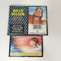 VTG Willie Nelson 3 Cassette Lot, Greatest Hits, City Of New Orleans, Rare Early
