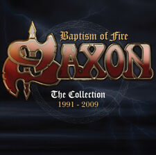 Saxon : Baptism of Fire: The Collection 1991-2009 CD (2016) ***NEW***