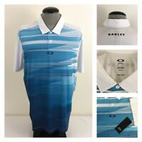 NWT Oakley Ace Mens XL Regular Fit Wicking Golf Polo Stretch Fairway Shirt