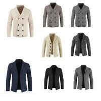 Men Basic Sweater Winter Must Warm Thicken Pullover Sweater Wild Knitwear Coat