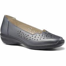 Más caliente para mujeres Cuero Bomba De Calce Ancho Zoe Slip On Informal Zapatos Casuales bomba para adultos