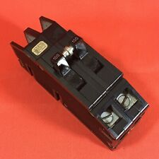 100 Amp Zinsco or Gte Sylvania Challenger 100A Double or 2 Pole Breaker Type Q