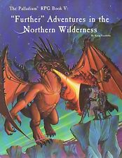 """The palladium-rpg book - """"Further"""" Adventures in the Northern wilderness - (sc) - rare"""