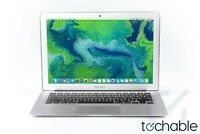 "Apple MacBook Air Laptop 13"" Core  2.2GHz i7 8GB RAM Customizable to 512GB SSD"