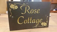 Slate sign plaque House Names  address number personalized