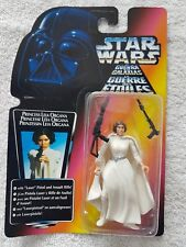 Star Wars Power of the Force années 90 vintage figure non ouvert Princesse Leia Organa