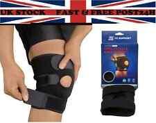 neoprene patella black elastic knee support, brace fastener, gym sport Uk Seller