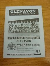 18/09/1979 Glenavon v Standard Liege [UEFA Cup] . Thanks for viewing our item, b