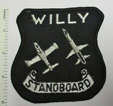 WILLIAMS US AIR FORCE BASE PILOT TRAINING PROGRAM PATCH WILLY STANDBOARD Vintage