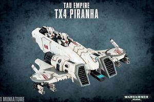 Tau Empire Tx4 Piranha 56-19 Games Workshop Warhammer 40K 40000 Citadel Mi...