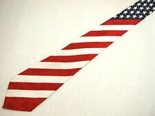 "Steven Harris Mens Necktie Tie USA American Flag Patriotic 4th of July Stars 61"""