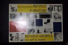 Come costruire i Mobili Rietveld