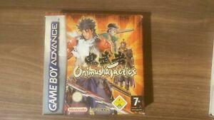 Onimusha Tactics Nintendo Game Boy Advance GBA New but not sealed