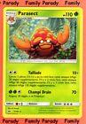 Parasect 110pv 5/149 Soleil et Lune Carte Pokemon Rare neuve fr