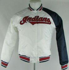 Cleveland Indians MLB Starter Women's Full Snap Bomber Jacket