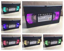 VHS Table Lamp FRIENDS 90s TV Retro Colour Changing Original Merchandise