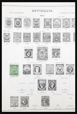 Lot 31195 Collection stamps of South America 1850-1900.