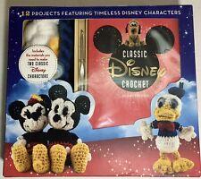 Disney Mickey Minnie Mouse Friends Amigurumi Crochet Kit, Kreiner, 12 Projects