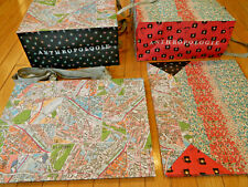 Lot 10 New Anthropologie Conversations Shopping Bags~Paris Map Paper Bags