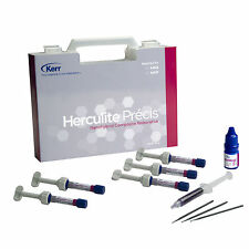 2 X Kerr Herculite Precis Universal Nanohybrid Composite Kit Dental Supply!!!