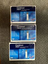 300 Contour Next Blood Glucose Test Strips (3 Boxes Of 100-Count)