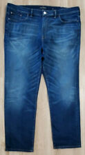 Lucky Brand Mens Jeans Size 42 x 32 Athletic Taper Blue