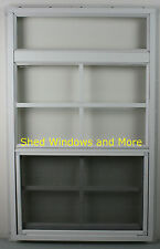 "Shed More View Window 18"" x 29"" White J-Channel Playhouse Window Shed Treehouse"