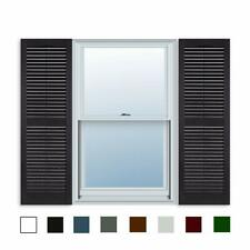 Pair of Black Window Shutters 15 by 43 inches