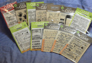 Hero Arts Clear Cling Stamps:Sentiments/Celebrations/Girl/Boy/Creatures:choose