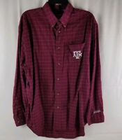 Three Square Texas A&M Aggies Mens XL LS Shirt School Colors Very Nice!