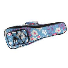"Beautiful Oxford Fabric 21 ""Ukulele Protective Case for Hawaii Guitar Blue"
