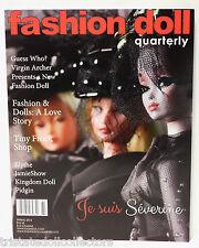 "Spring 2016 ""Monochrome"" JeSuis Severine Fashion Doll Quarterly Fdq Magazine_New"