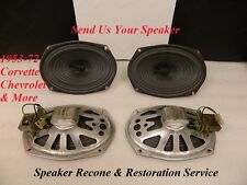 Restoration & Recone Service for Original 1953-70's Corvette & Chevrolet Speaker