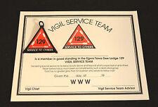 C7188 OA BSA Scouts EGWA TAWA DEE 129 - VIGIL SERVICE TEAM AWARD 1998