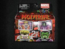 Wolverine Minimates - Sabretooth / Skrull 2-pack