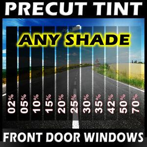 Nano Carbon Window Film Any Tint Shade PreCut Front Doors for GMC SUV Glass