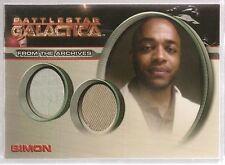 Battlestar Galactica Season 4 Dual Costume DC16 Simon