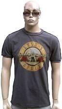 Amplified Guns N 'ROSES Drum Logo Rock Star Vintage Näthe esterno T-shirt G.M