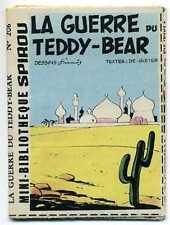 SPIROU. MINI RECIT LA GUERRE DU TEDDY-BEAR. FRANCIS 206