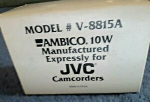 AMBICO, 10 WATTS Bracket Light For Video Camera Expressly For JVC Camcorders