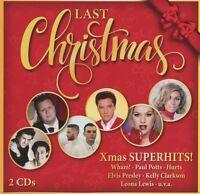 LAST CHRISTMAS - XMAS SUPERHITS! (WHAM!,RICK ASTLEY,JOHNNY CASH,...) 2 CD NEU
