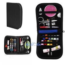 Travel Home Sewing Kit Case Needle Thread Tape Scissor Set Mini Size Handcraft