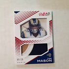 TRE MASON #CJ-TM Rams 05/25 Made PRIME 2015 panini clear vision jersey patch for sale