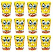 12x Sponge-Bob SquarePants Plastic Reusable Cups 16oz~Birthday Party Favors~