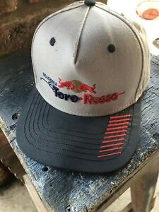 Vintage Toro Rosso F1 Formula 1 Team Baseball Cap SnapBack Grey Blue Used V Good
